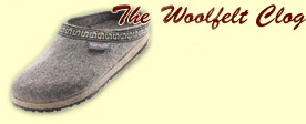 The woolfelt Clog